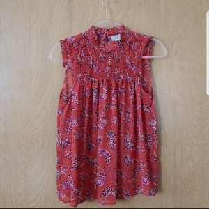Anthropologie | Maeve | sleeveless blouse size 4